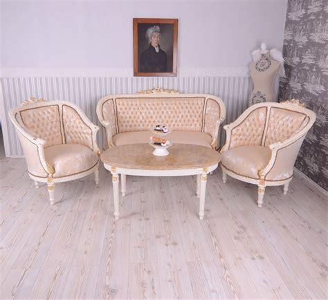 Baroque Sofa Set by Living Room Set Furniture Set Baroque Sofa Two Armchairs