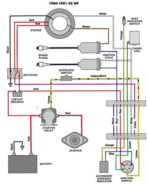 Outboard Engine Wiring Diagram by Mastertech Marine Chrysler Outboard Wiring Diagrams