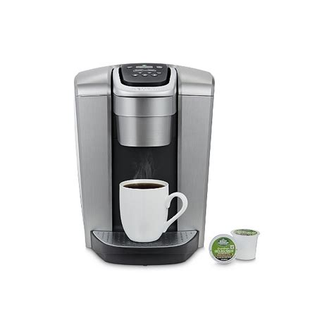 Actually, there is a bit more to know about this particular machine. Keurig K-Elite Single-Serve K-Cup Pod Coffee Maker with Iced Coffee Setting - Silver   Shop Your ...