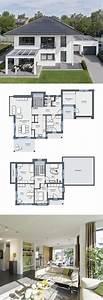 Modernes Haus Grundriss : modernes design haus mit garage pergola grundriss einfamilienhaus city life haus 250 ~ Orissabook.com Haus und Dekorationen