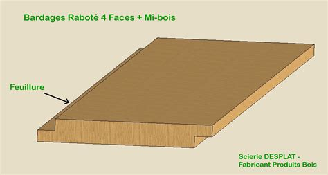 scierie desplat fabricant produits bois lames de