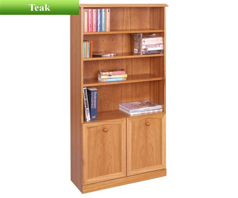 Sutcliffe Trafalgar 252 Bookcase With 2 Doors And 3