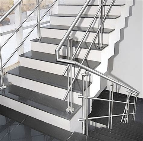 Staircase Ss Railing Design by Stainless Steel Balustrades Glass Productions Uk