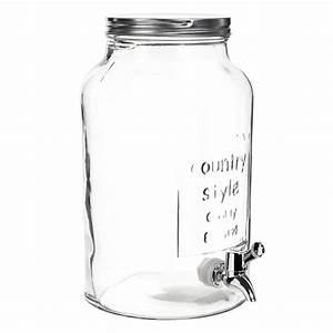 Bonbonne En Verre : bocal boisson en verre h 30 cm maisons du monde wish list home pinterest pots et lunettes ~ Teatrodelosmanantiales.com Idées de Décoration