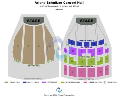 Arlene Schnitzer Concert Hall Tickets In Portland Oregon