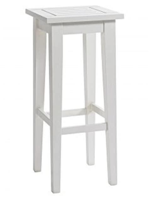 tabouret de bar bois blanc myqto