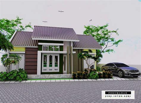 desain gambar denah rumah minimalis type 60 terbaru