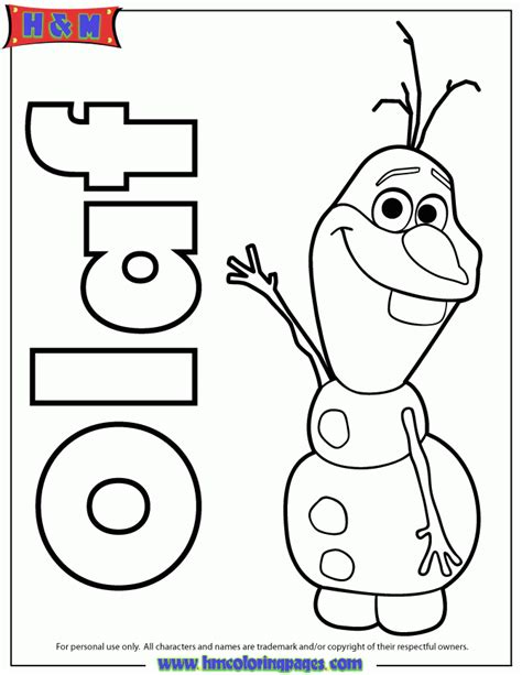 Frozen Olaf Coloring Page Kawaii Frozen Coloring Pages Coloring Home