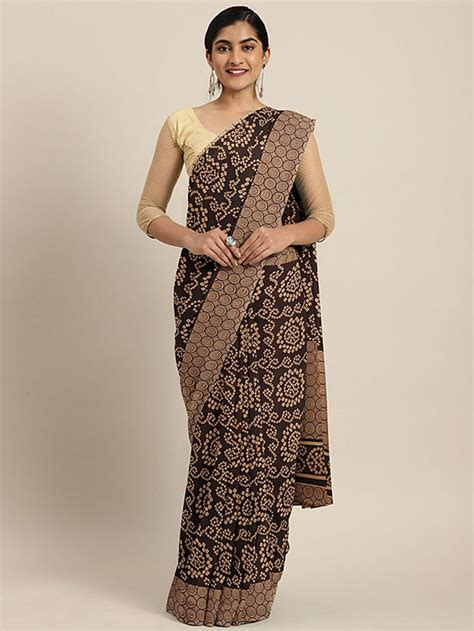 So, when you are picking a contrast blouse, you must check what shade of green your saree is. Coffee Brown Saree - 25 Spectacular Coffee Brown Colour Sarees for Women