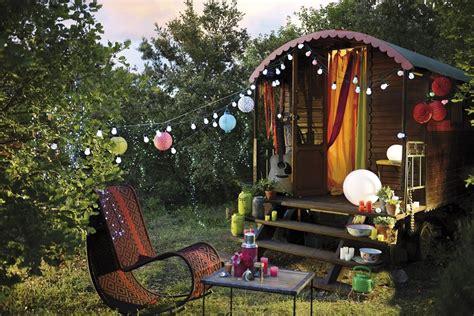 toutes nos idees pour eclairer vos terrasses  jardins