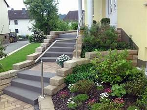 Kiesflächen Im Garten : treppenanlagen von koch garten und landschaftsbau ~ Markanthonyermac.com Haus und Dekorationen