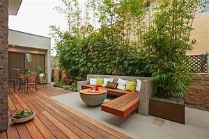 Contemporary patio design ideas photos for Whirlpool garten mit balkon pergola