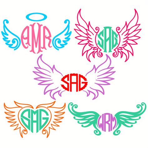 wings  ready cuttable design