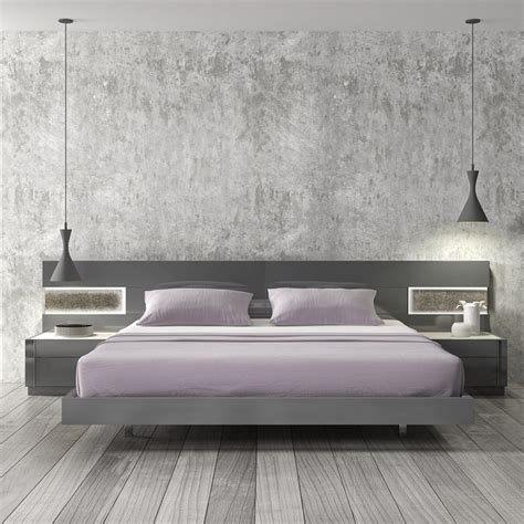 contemporary platform bed with lights best 25 modern beds ideas on modern bedroom
