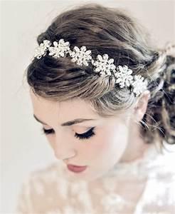 Couronne Fleur Cheveux Mariage : accessoire cheveux mariage fleurs ~ Melissatoandfro.com Idées de Décoration