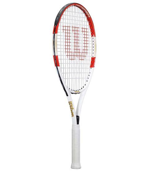 wilson roger federer  tennis racket buy    price  snapdeal