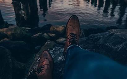 Legs Boots Sunset 4k Ultra Widescreen Wallpaperscraft