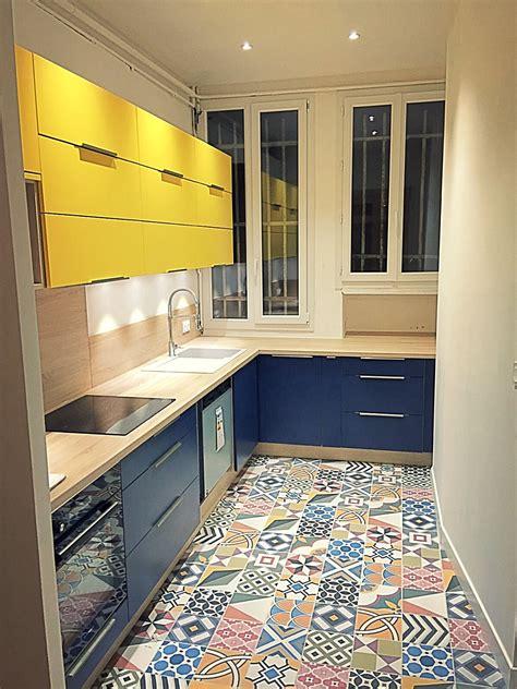 cuisine couleur gris coralie aubert appartement haussmannien 140m une