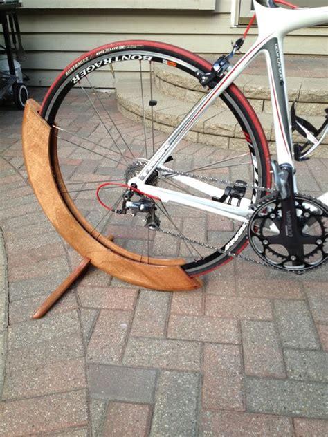 wooden bicycle stand  tad  lumberjockscom
