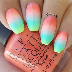 16 Super Cool Ombre/Gradient Nail Art Tutorials - Hot Beauty Health