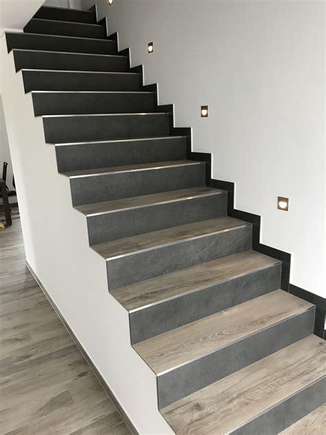 Treppen Fliesen Holzoptik treppe fliesen in holzoptik 2 verschiedene farben