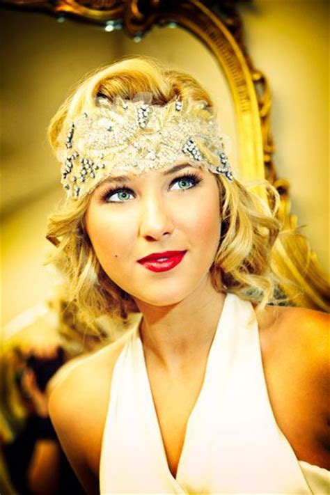 20s Prom Hairstyles by Glamorous Gatsby Inspired Wedding Ideas Style Great