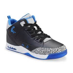basketball centerpieces shaq men 39 s commander black blue high top basketball shoe