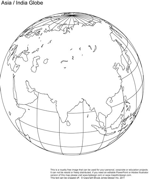 printable blank world globe earth maps royalty  jpg