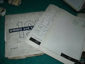 Ford Maverick Wiring Diagram Manual Sheets Ebay