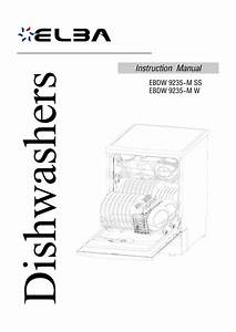 Dishwasher Photo And Guides  Elba Dishwasher Dimensions