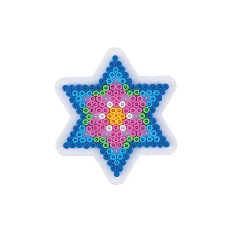 plaque cuisine plaque perles à repasser hama midi etoile petit modèle