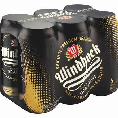 Windhoek Draught 440ml Beer Cans Pack Shoprite