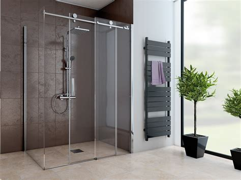 dusche mit seitenwand schiebetuer  teilig  cm hoch