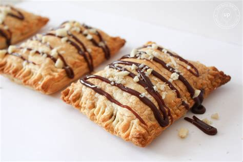 three ingredients banana nutella puff pastry pies