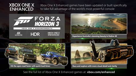 forza horizon 3 xbox one x enhanced experience australia