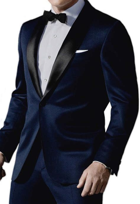 black tux wedding midnight blue bond tuxedo in skyfall