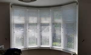 Wooden Venetian Blinds Bay Window