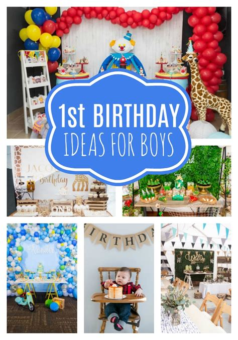 18 First Birthday Party Ideas For Boys Pretty My Party