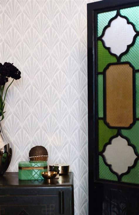 art deco wallpaper inspired   glamour