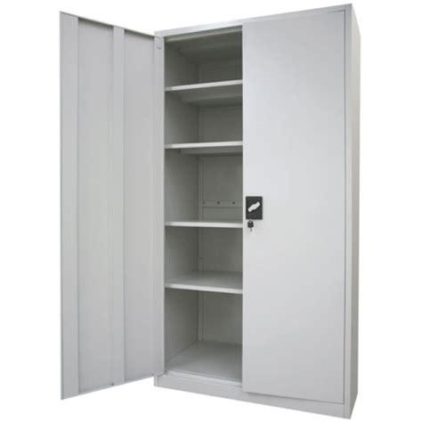 Schrank Metall by Stratco 2 Door Metal Storage Cabinet