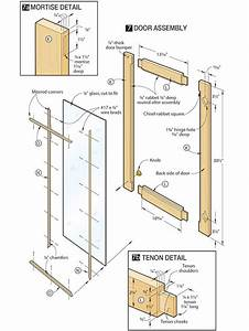 Download How To Make A Display Cabinet Door Plans Free
