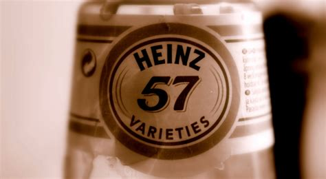 Brands and Numbers: Heinz 57