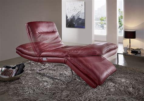 chaise longue cuir absolute chaise longue cuir lit de jour électrique