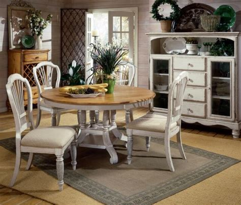 Antique White Dining Room Table by Dining Room Set 5 Table Wood Leaf Antique