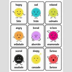 Fun English Emotion Flashcards