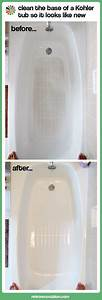 How to clean a fiberglass shower base to look like new for How to clean bathroom tub