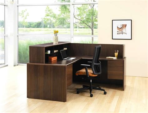 small office desk ideas office reception table design bedroom and living room