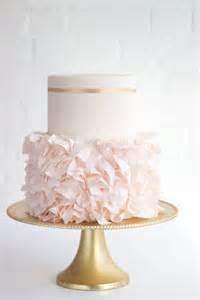 wedding shower food ideas 32 sweet blush and gold wedding ideas weddingomania