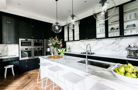 Black Cupboards Kitchen Ideas by 14 Ultimate Black Kitchen Color Ideas For 2016