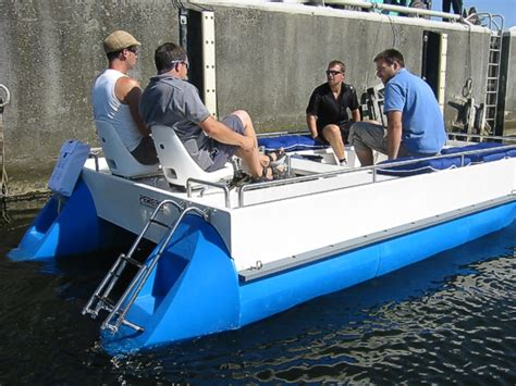 Pedal Boat German by Perebo Pontoon Boats The Right Boat For Every Occasion